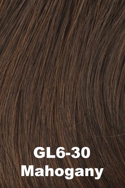 Gabor Wigs - Under Cover Halo Bangs Gabor Mahogany (GL6-30