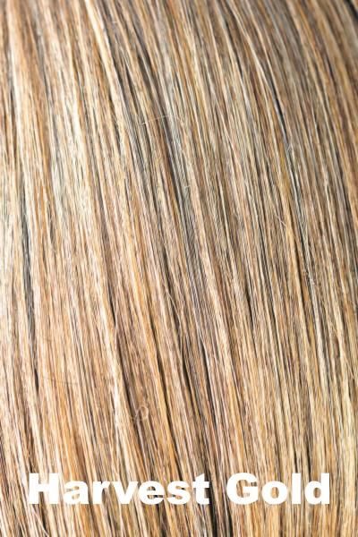 Amore Wigs - Medium Mono Top Piece #751 wig Amore Harvest Gold