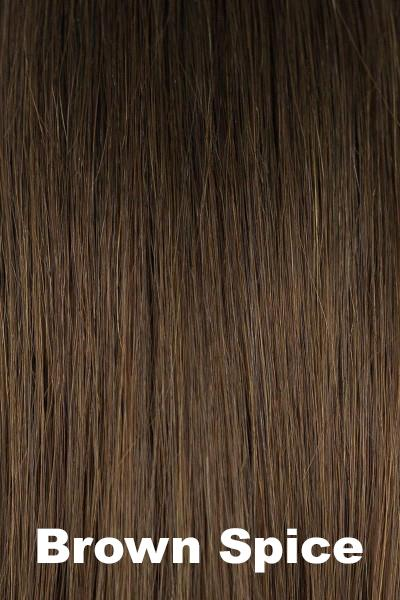 Orchid Wigs - Lily Human Hair (#8705) wig Orchid Brown Spice Average