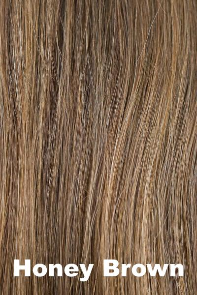 Orchid Wigs - Lily Human Hair (#8705) wig Orchid Honey Brown Average