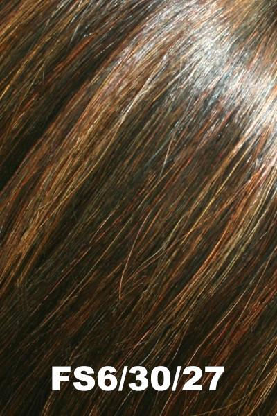 "Easihair Topper - EasiPart French 8"" (#739) - Remy Human Hair Enhancer EasiHair Toffee Truffle (FS6/30/27)"
