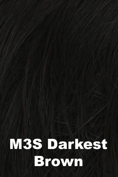 HIM Wigs - Daring wig HIM M3S (Darkest Brown) Average-Large