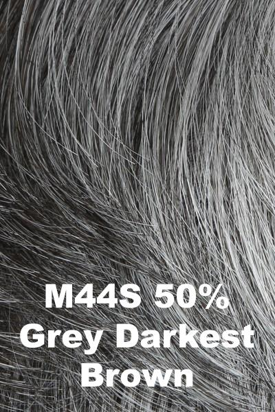HIM Wigs - Daring wig HIM M44S (50% Grey, Darkest Brown) Average-Large