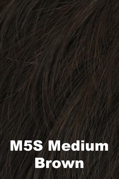 HIM Wigs - Style wig HIM M5S (Medium Brown) Average-Large