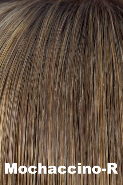 Amore Wigs - Luxe TP (#911) wig Amore Mochaccino-R + $18.08