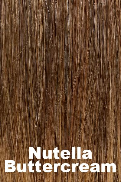 "Belle Tress Wigs - Lace Front Mono Top Straight 14"" (#7005) Enhancer Belle Tress Nutella Buttercream"