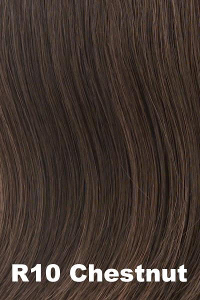 Hairdo Wigs Extensions - Fringe Top of Head (HXTPFR) Extension Hairdo by Hair U Wear Chestnut (R10)