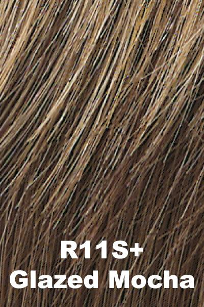 Hairdo Wigs - Breezy Wave Cut (#HDBZWC) wig Hairdo by Hair U Wear Glazed Mocha (R11S+) Average
