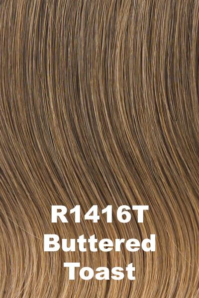 "Hairdo Wigs Extensions - 22"" 4-Piece Wavy Fineline Extension Kit (#HX22FW) wig Hairdo by Hair U Wear Buttered Toast (R1416T)"
