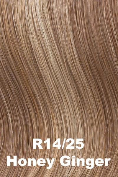 Hairdo Wigs Extensions - Fringe Top of Head (HXTPFR) Extension Hairdo by Hair U Wear Honey Ginger (R14/25)