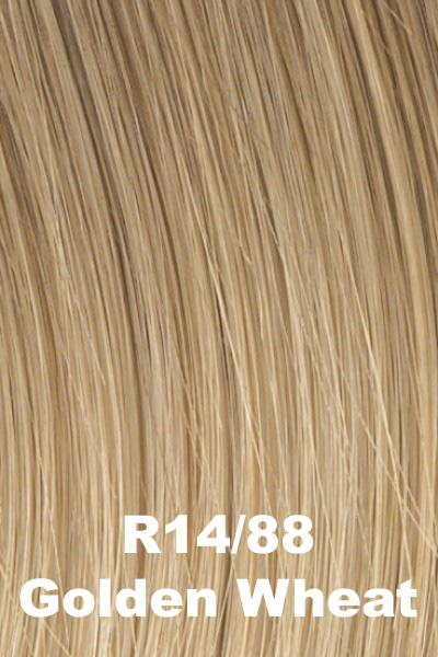 Hairdo Wigs Extensions - Fringe Top of Head (HXTPFR) Extension Hairdo by Hair U Wear Golden Wheat (R14/88H)