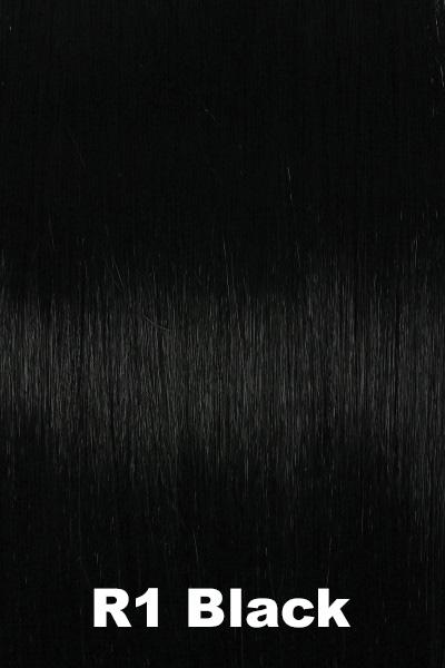 Hairdo Wigs Extensions - French Braid Band (#HXFBBD) Headband Hairdo by Hair U Wear Black (R1)