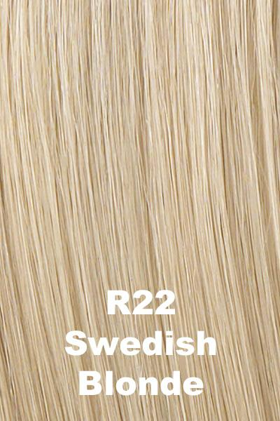 Hairdo Wigs Extensions - 18 Inch Human Hair Highlight Extension (#HX18HH) Extension Hairdo by Hair U Wear Swedish Blonde (R22)