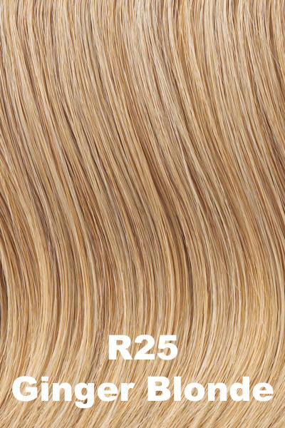 "Hairdo Wigs Extensions - 22"" 4-Piece Wavy Fineline Extension Kit (#HX22FW) wig Hairdo by Hair U Wear Ginger Blonde (R25)"