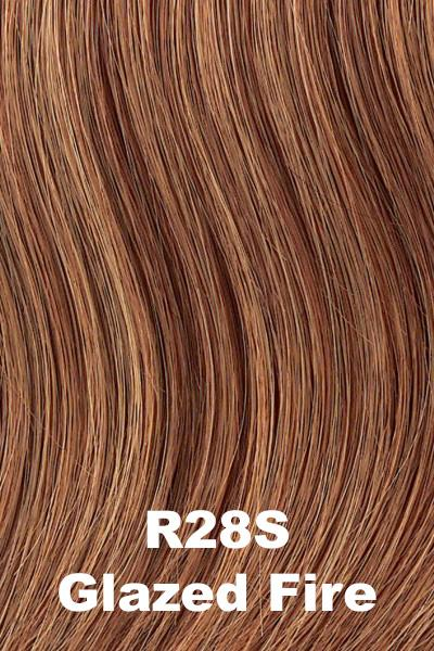 Hairdo Wigs Extensions - Fringe Top of Head (HXTPFR) Extension Hairdo by Hair U Wear Glazed Fire (R28S)