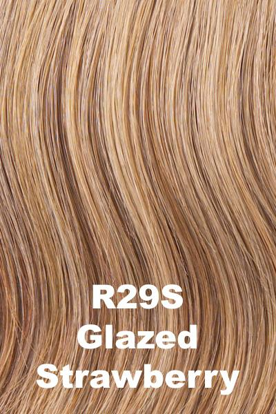 Hairdo Wigs Extensions - Fringe Top of Head (HXTPFR) Extension Hairdo by Hair U Wear Glazed Strawberry (R29S)