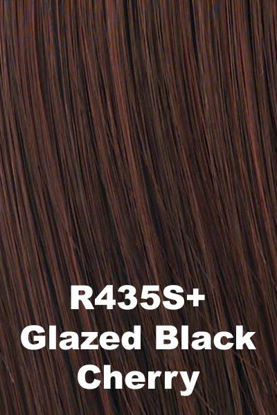Hairdo Wigs - Short Tapered Crop (#HDDTWG) wig Hairdo by Hair U Wear Glazed Black Cherry (R435S+)