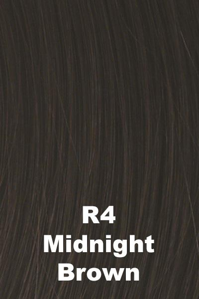 Raquel Welch Wigs - Go For It wig Raquel Welch Midnight Brown (R4) Average