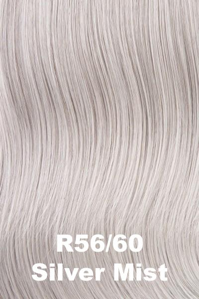 Hairdo Wigs Extensions - Top of Head (#HXTPHD) Enhancer Hairdo by Hair U Wear Silver Mist (R56/60)