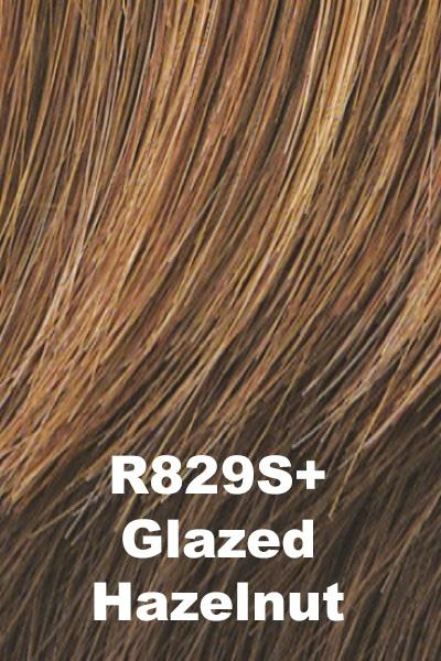 Hairdo Wigs - Breezy Wave Cut (#HDBZWC) wig Hairdo by Hair U Wear Glazed Hazelnut (R829S+) Average