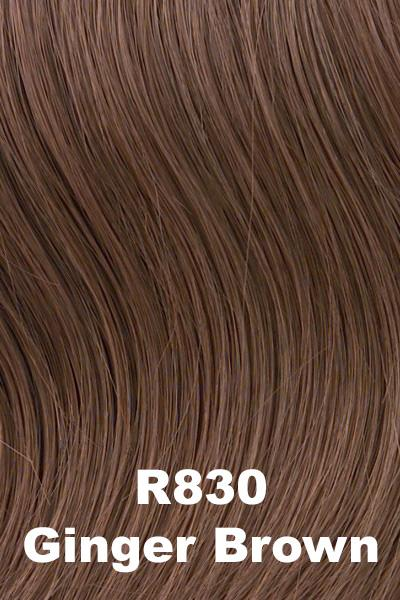Hairdo Wigs Extensions - Fringe Top of Head (HXTPFR) Extension Hairdo by Hair U Wear Ginger Brown (R830)