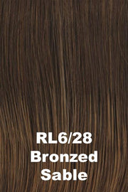Raquel Welch Wigs - Crowd Pleaser wig Raquel Welch Bronzed Sable (RL6/28) Average