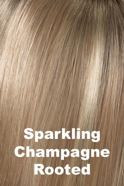 Envy Wigs - Taryn - Human Hair Blend wig Envy Sparkling Champagne Average