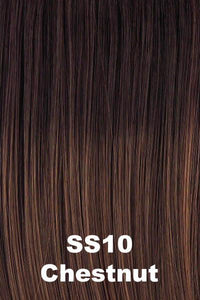 Sale - Raquel Welch Wigs - Power Petite-Average - Color: SS Chestnut (SS10)