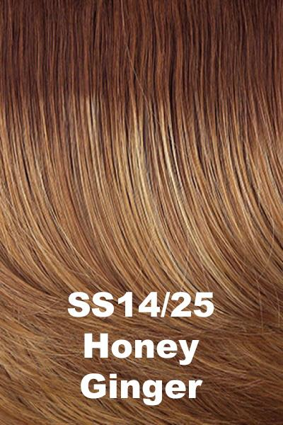 Hairdo Wigs Extensions - Fringe Top of Head (HXTPFR) Extension Hairdo by Hair U Wear SS Honey Ginger (SS14/25) + $5