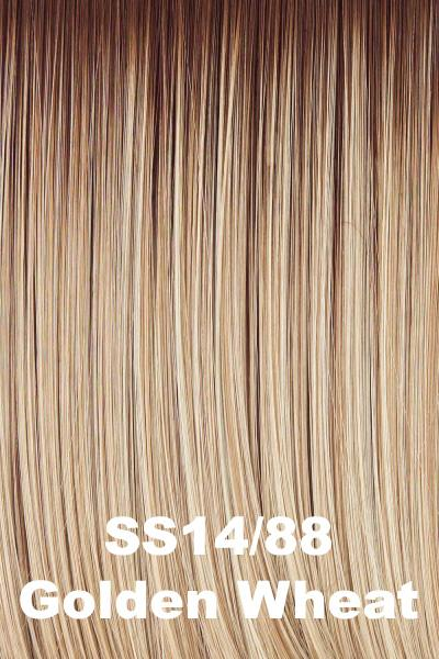 Hairdo Wigs Extensions - Fringe Top of Head (HXTPFR) Extension Hairdo by Hair U Wear SS Golden Wheat (SS14/88H) + $5