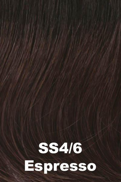 Raquel Welch Wigs - Go For It wig Raquel Welch Shaded Espresso (SS4/6) +$4.25 Average