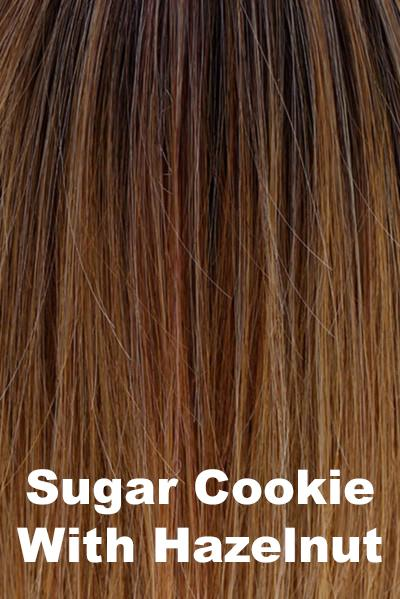 "Belle Tress Wigs - Lace Front Mono Top 6"" (#7009) wig Belle Tress Sugar Cookie with Hazelnut"