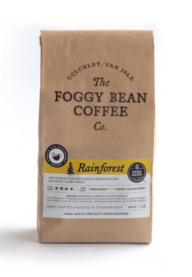 Rainforest Decaf Espresso - Medium Dark Roast