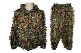 Unisex Chasse Top Paintball Ghillie Suit Camouflage 3d Leaf Realtree Sniper Outdoor Recreation Adventure Hunting Clothes