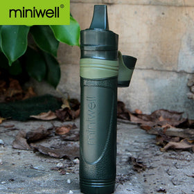 Adventuring and camping survival emergency water filter