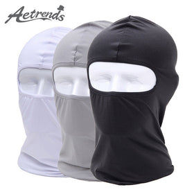 [AETRENDS] New Mask Hat Balaclava Skullies Adventure Hats for Men Scarf or Women Neck Warm Cap Z-694
