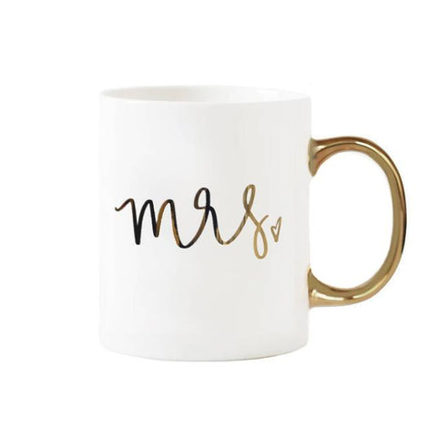 Mrs. White Coffee Mug