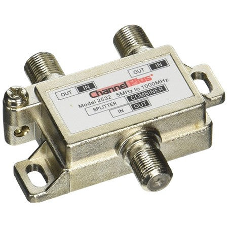 CHANNEL PLUS 2 WAY SPLITTER/COMBINER 2532