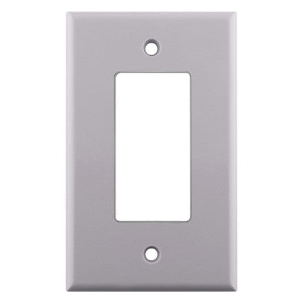 Decora Style Single Gang Wall Plate