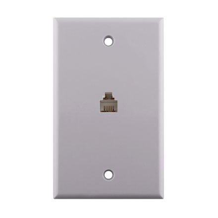 Flush Mount Phone Wall Plate