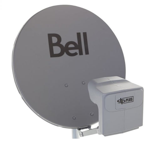 Bell Satellite Dish with Twin LNB