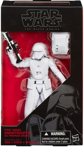 Star Wars The Black Series 6 Inch First Order Snowtrooper