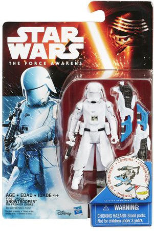 Star Wars The Force Awakens First Order Snowtrooper 3 3/4 Inch Figure
