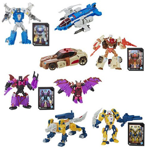 Transformers Generations Titans Return Deluxe Class Wave 2 SET of 4