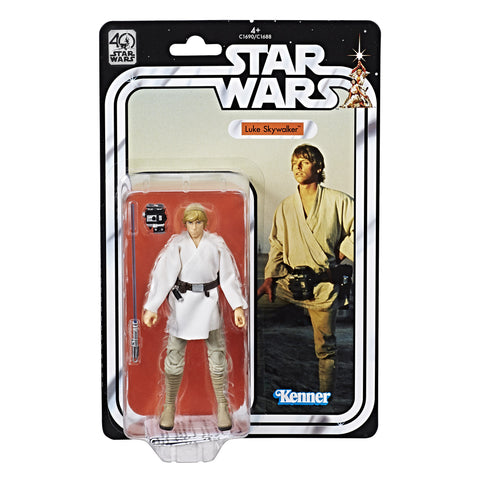 Star Wars The Black Series 40th Anniversary Luke Skywalker In Stock