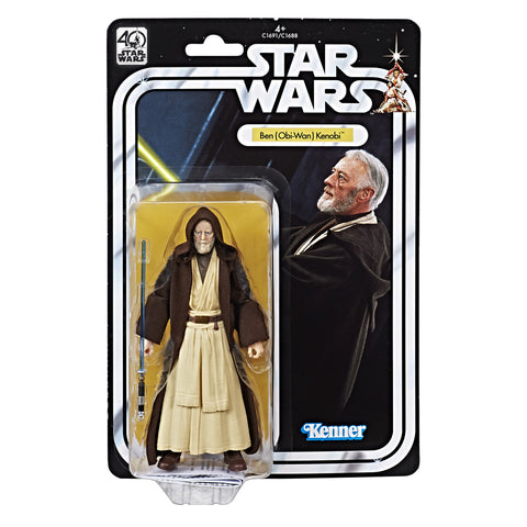 Star Wars The Black Series 40th Anniversary Ben Obi-Wan Kenobi In Stock