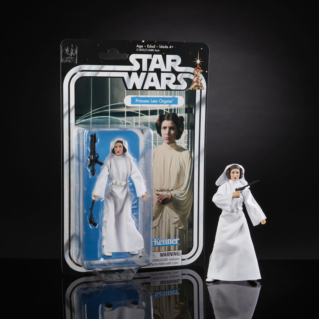 Star Wars The Black Series 40th Anniversary Princess Leia Organa 5.25 Inch...