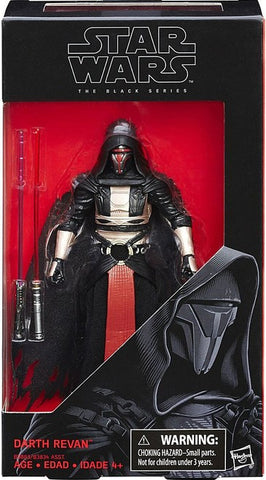 Star Wars The Black Series Darth Revan 6 Inch Action Figure