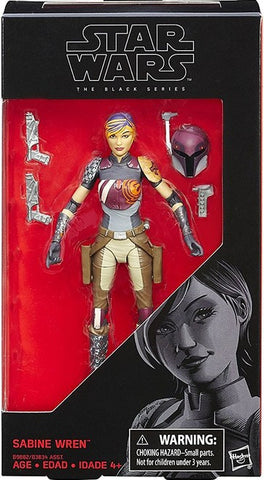 Star Wars The Black Series Sabine Wren 6 Inch Action Figure