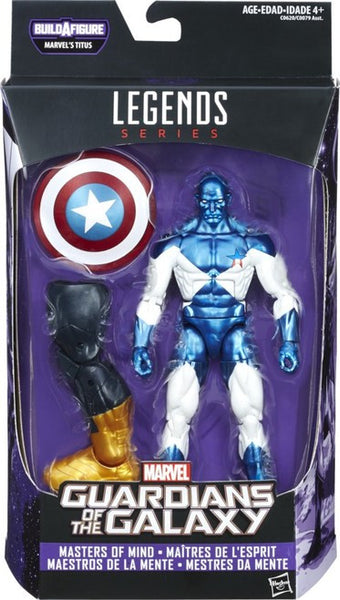 Marvel Legends Guardians of the Galaxy Vol. 02 Vance Astro 6-Inch Action Figure BAF Titus